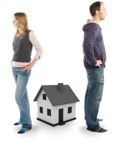 Раздел дачного участка при разводе